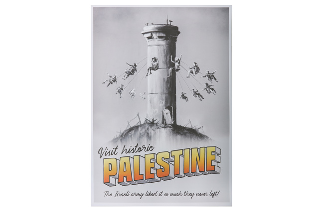 Banksy, 'Walled Off Palestine Poster', Chiswick Auctions