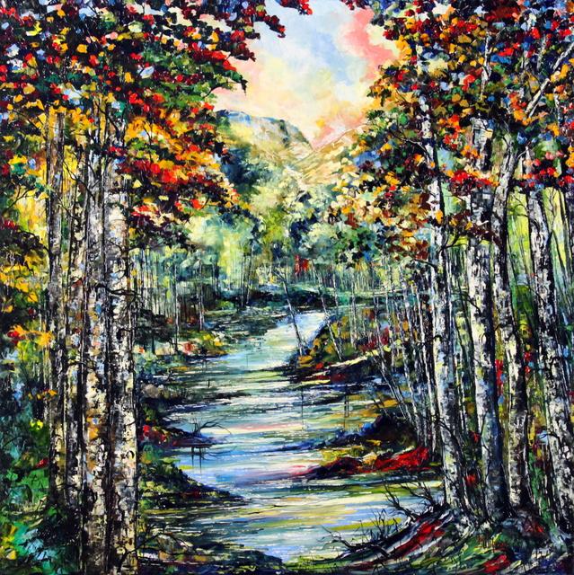 , 'Aspen Sul Platte River,' 2016, Bitfactory Gallery