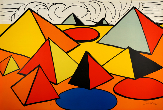 , 'Composition with Pyramids, Circles and Clouds  ,' 1970, Pascal Fine Art