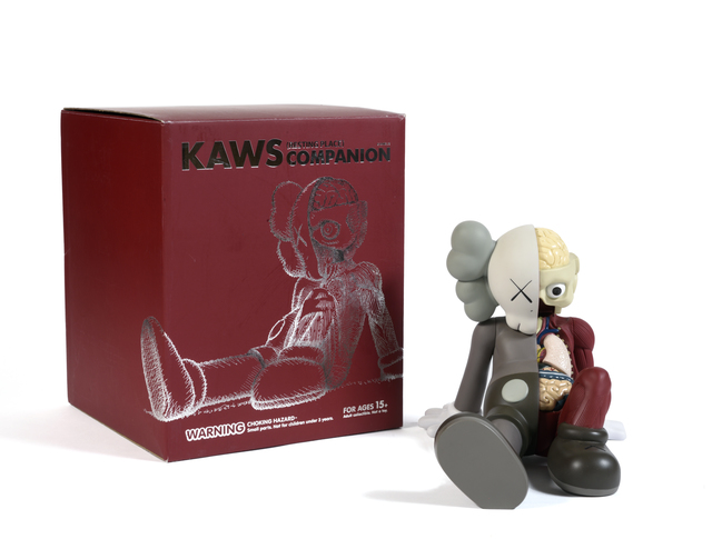 KAWS, 'Resting Place (Brown)', 2012, Digard Auction