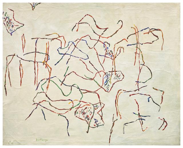, 'Passeggiata Elettrica,' 1963, Axel Vervoordt Gallery