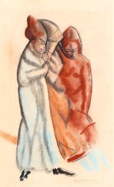 Jacob Kramer, 'Three figures', Chiswick Auctions