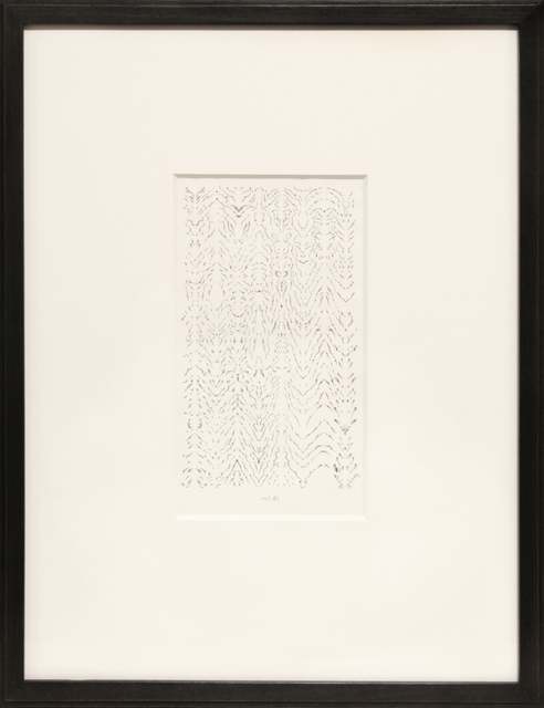 , 'INKBLOT DRAWING, JUNE 16, 1998,' 1998, Anglim Gilbert Gallery