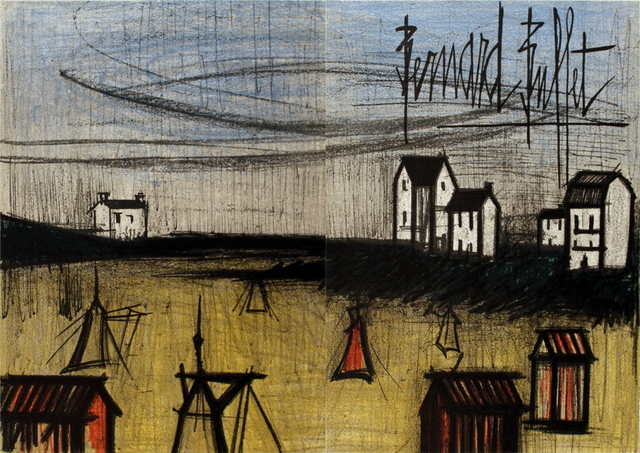 Bernard Buffet, 'The Small Beach (dyptich)', 1966, ArtWise
