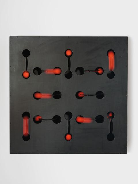 Martha Boto, 'Mouvements surprises', 1969, Sculpture, Plexiglas, pingpong balls, fluorescent paint, wood, emulsion and electric motor, ARCHEUS/POST-MODERN