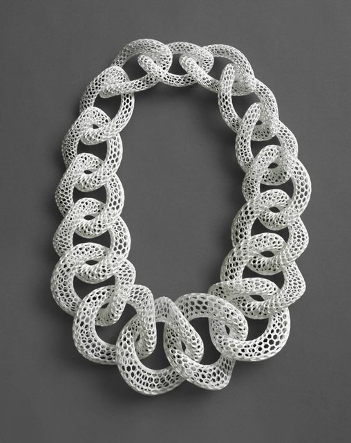 , 'Islet | White, Neckpiece,' 2012, Philadelphia Museum of Art