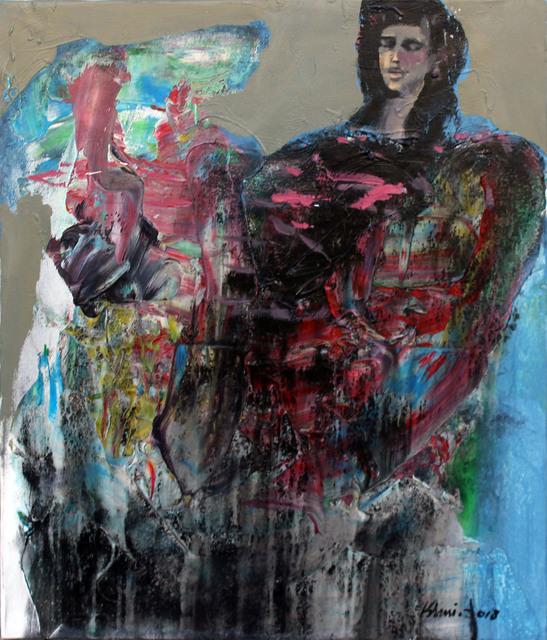 Khalid El-Khani, 'Black & Blue', 2018, Orient Gallery