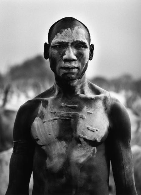 Sebastião Salgado, 'DINKA MAN, SOUTHERN SUDAN', 2006, Huxley-Parlour