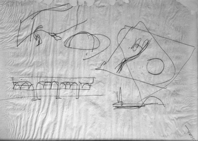 Oscar Niemeyer, 'Communist Headquarters Paris and University of Argel', 1980, GTG Art and Design