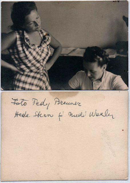 , 'Hedda Sterne and Medi Wechsler Dinu,' ca. 1940, Nasui Collection & Gallery