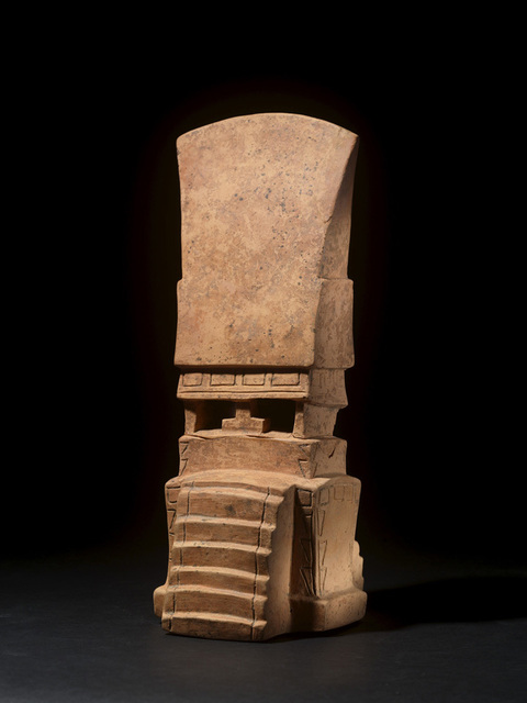 , 'MAYA TEMPLE MODEL,' ca. A.D. 400-900, Colnaghi