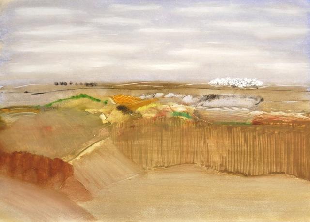Charles Duranty, 'Golden landscape', ca. 1970, Robert Eagle Fine Art
