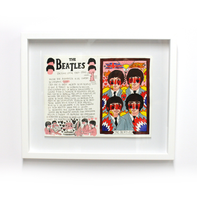 , '101 Artists to listen to before you die ; The Beatles,' 2016, Station 16 Gallery