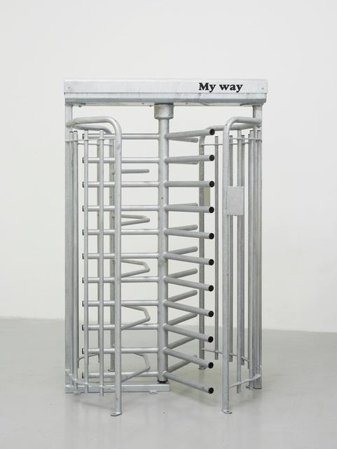 , 'Tout Fait (Teleporter),' 2018, Galerie Krinzinger