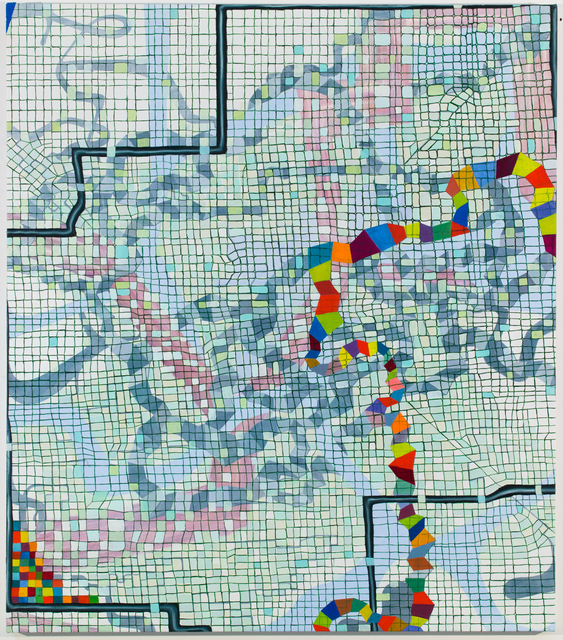 , 'Deductive Data,' 2017, Spanierman Modern