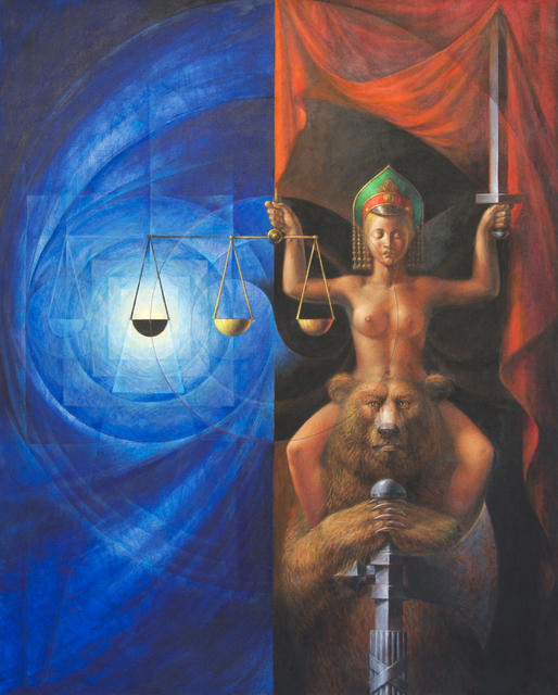 Vitaly Komar, 'Bear's Justice', 2010-2015, Ronald Feldman Gallery