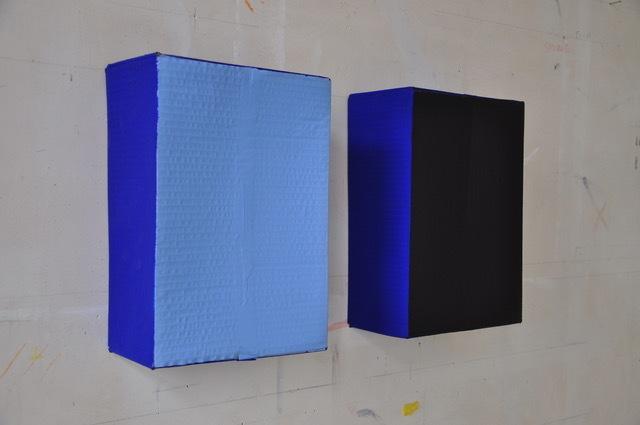 , 'Dix Jours / Dix Nuits (blue),' 1985, Tatjana Pieters
