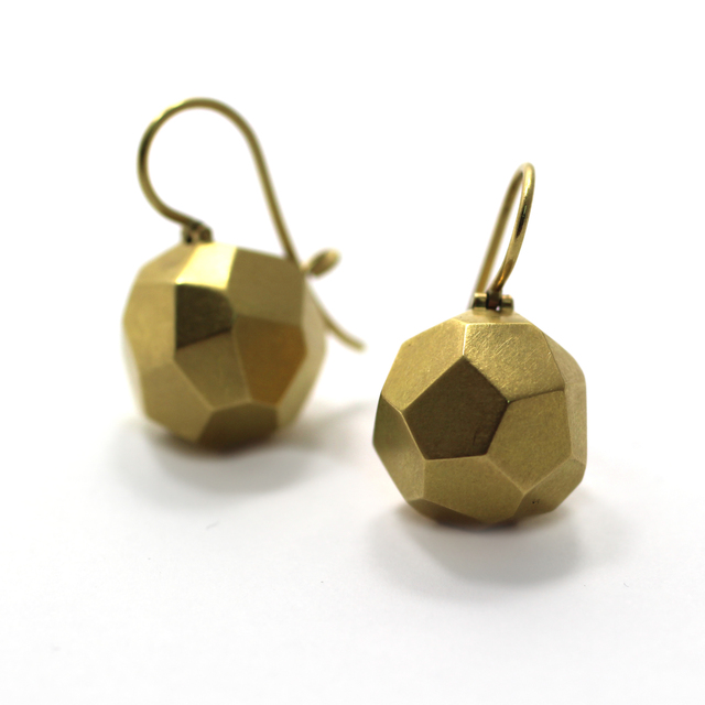 , 'Faceted Earrings,' 2015, Sienna Patti Contemporary
