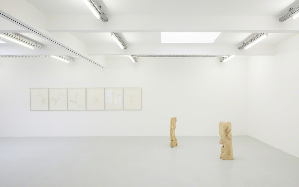 Exhibition view Benjamin Zanon at Kunstraum Innsbruck, 2017/2018, photo: Günther Richard Wett