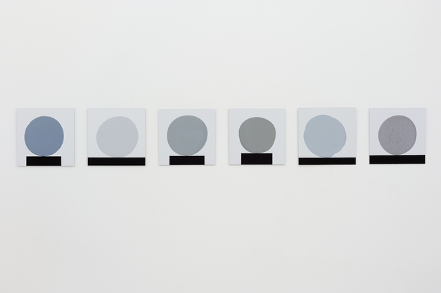 , 'Six Grey Blobs,' 2012, Galeria Leme