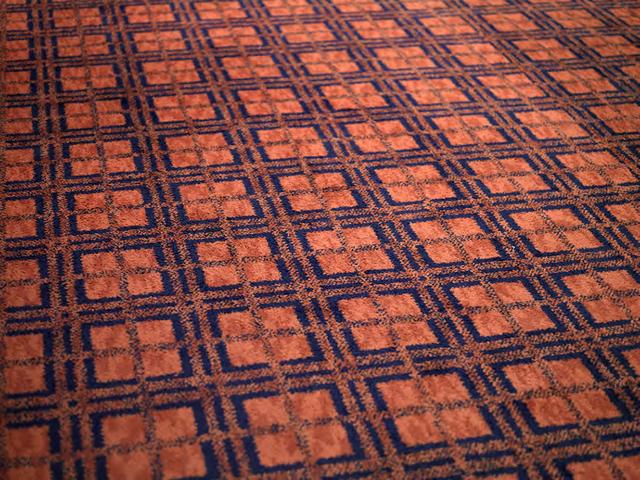 , 'Carpet at The Johnson Publishing Company Headquarters, Chicago, Illinois,' 2011, David Nolan Gallery