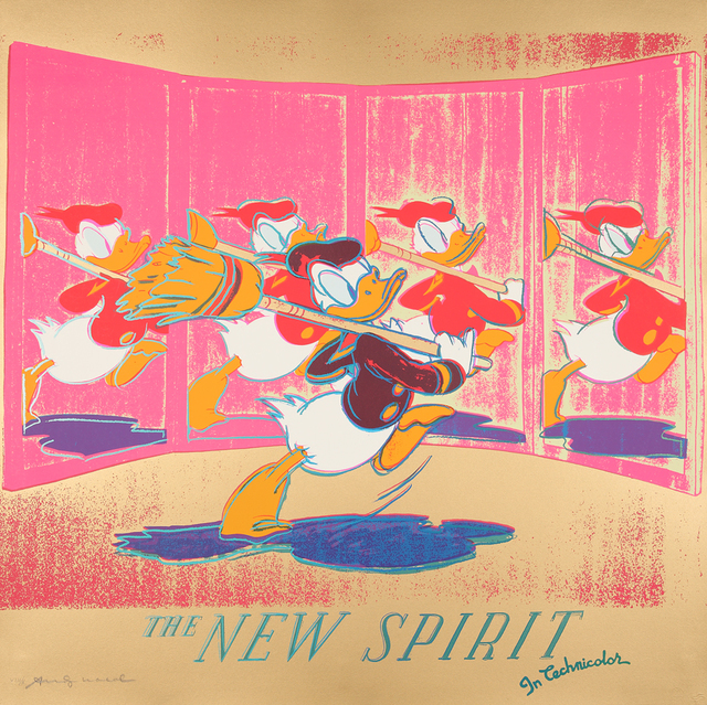 , 'The new spirit (Donald Duck) ,' 1985, Galerie Boisseree