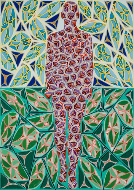 , 'Divided Man 29 (Praised be the fathomless universe),' , Miller Yezerski Gallery