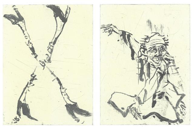 , 'Besuch von Hokusai II,' 2015, Henze & Ketterer