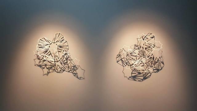 , 'Majaz Wall Sculpture (1,2),' 2017, BLOK art space