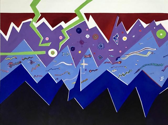 "Ron Burkhardt, 'ExtraTerrestrial Series ""Scapist-Alien Transit Authority""', 2018, MvVO ART"