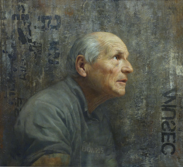 , 'Aspiration: Portrait of Antonio Lopez,' 2014, Gallery Henoch