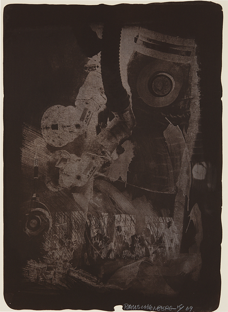 Robert Rauschenberg, 'Earth Crust, from Stoned Moon Series', 1969, Phillips