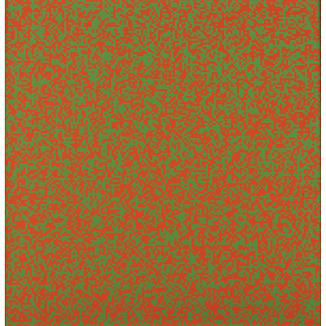 François Morellet, 'Random distribution of 40,000 squares', 1971, PIASA