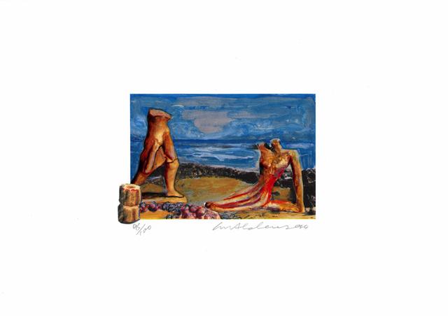 Ivor Abrahams, 'La Méditerranée 5', 1994, Bernard Jacobson Gallery