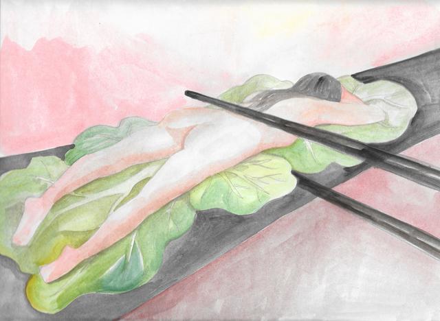 , 'Sushi Woman,' 2016, Ochi Projects