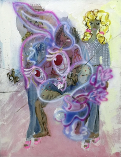 , 'Untitled (Hillbilly Barbies with Bunny),' 2015, Johannes Vogt Gallery