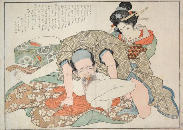 Teisai Hokuba, 'A Man Who Loves Women', ca. 1838, Ronin Gallery