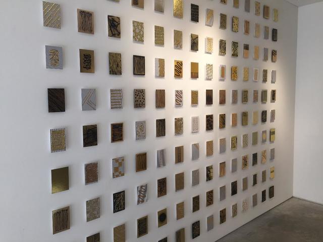 , '140 Gold Mine tiles,' 2017, Galleria Ca' d'Oro