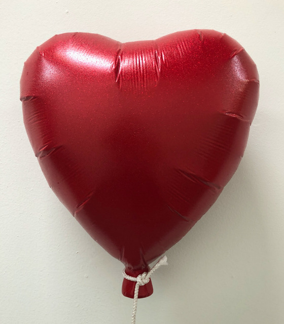 , 'Red Heart Balloon,' 2019, Bruce Lurie Gallery