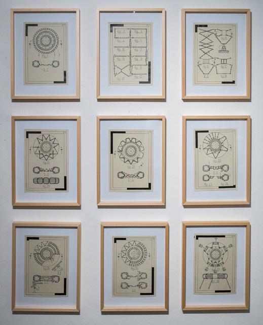 , 'Kette (1-9),' 2016, Mario Mauroner Contemporary Art Salzburg-Vienna