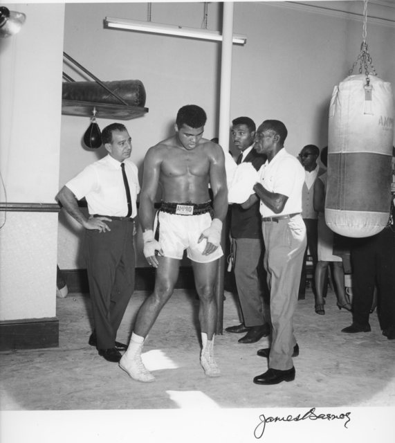 , 'Mohammed Ali, before his fight with Brian London,' 1966, Galerie Clémentine de la Féronnière
