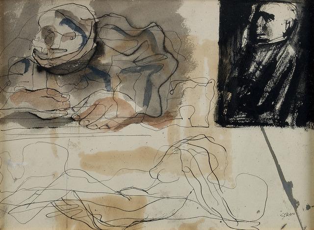 Mario Sironi, 'COMPOSIZIONE', circa 1950, Itineris