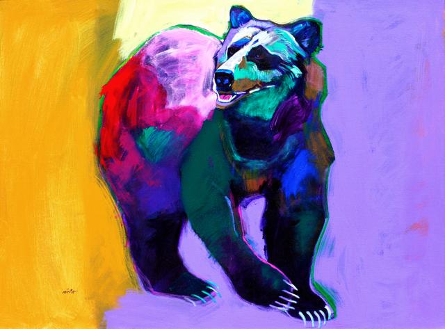 , 'Grizzly Confrontation,' 2009, Ventana Fine Art