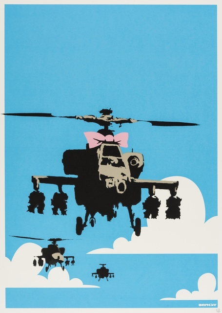 Banksy, 'Happy Choppers', 2003, Forum Auctions