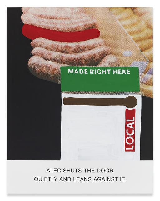 , 'Alec Shuts The Door…,' 2015, Sprüth Magers
