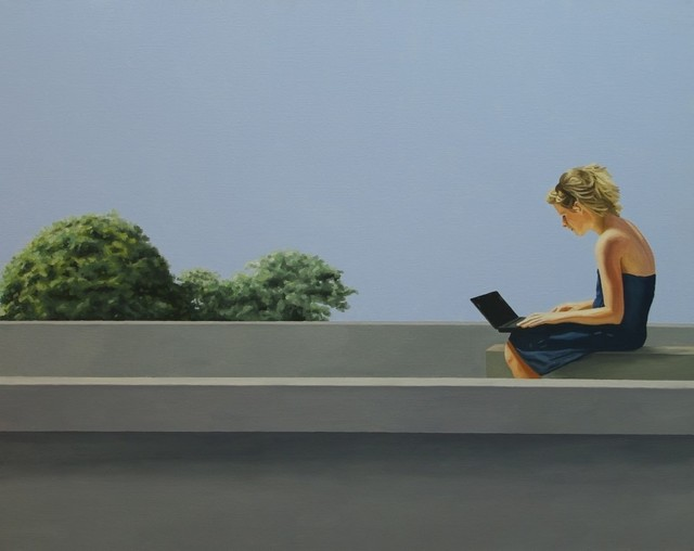 , 'On The Roof,' 2012, Galerie Klose