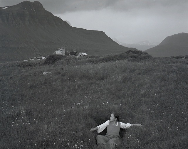 , 'Self-portrait in grass, Iceland,' 2017, Vision Neil Folberg Gallery