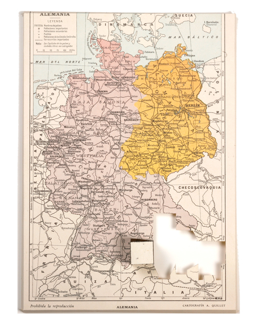 , 'Cubed maps (Germany),' 2011, Maddox Arts