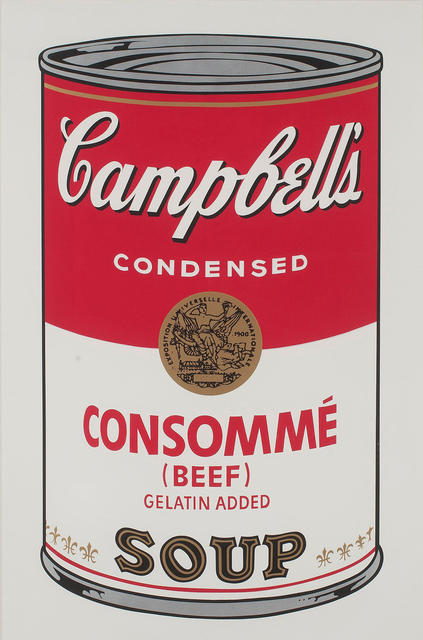 Andy Warhol, 'Campbell's Soup I: Consommé Beef (FS II.52)', 1968, Revolver Gallery