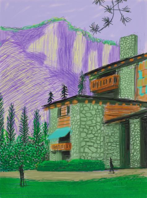 David Hockney, 'Untitled No.23', 2010, Dallas Collectors Club